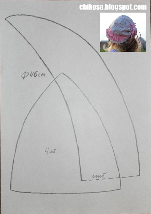 Шляпка из флиса мастер класс