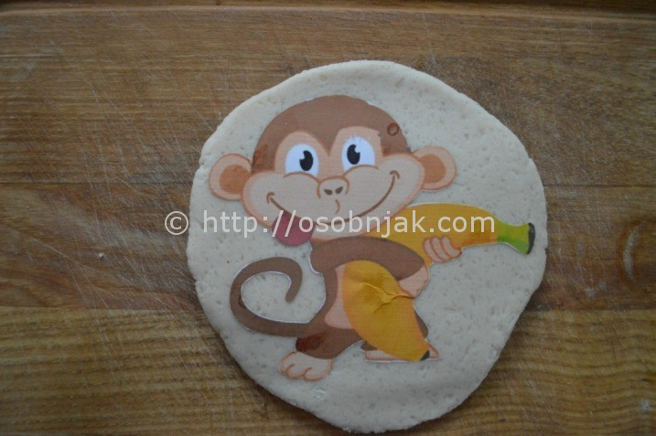 обезьяна из теста: мастер-класс