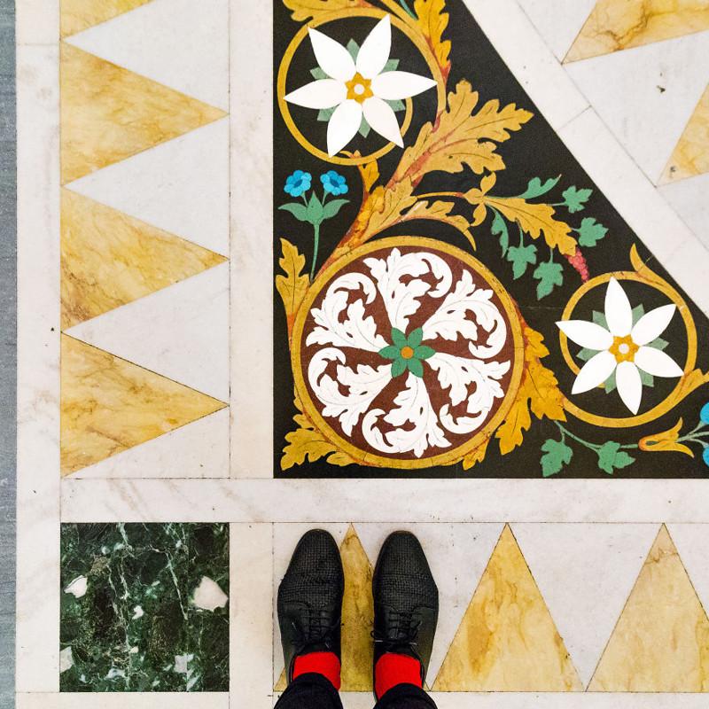Скуола Сан-Рокко венеция, пол, фотопроект