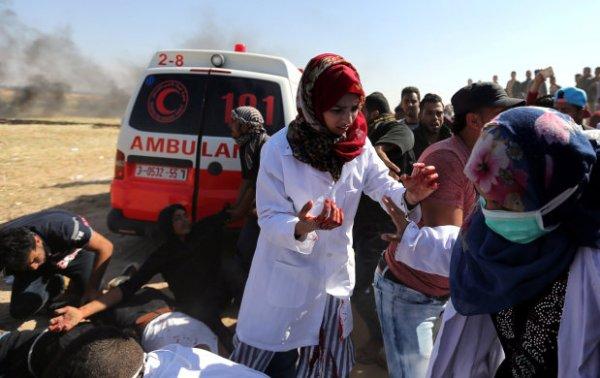 Убийства и нарушение гражданский прав мирных жителей израильскими военнослужащими