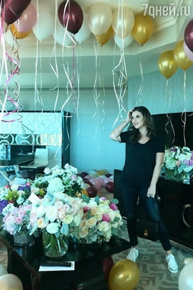 Жасмин отметила 40-летие в Лас-Вегасе