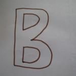 Знакомимся с буквой В