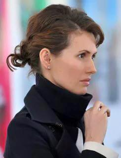 Раз уж тема Сирии ныне так актуальна. Немного о жене Асада - Асме Асад