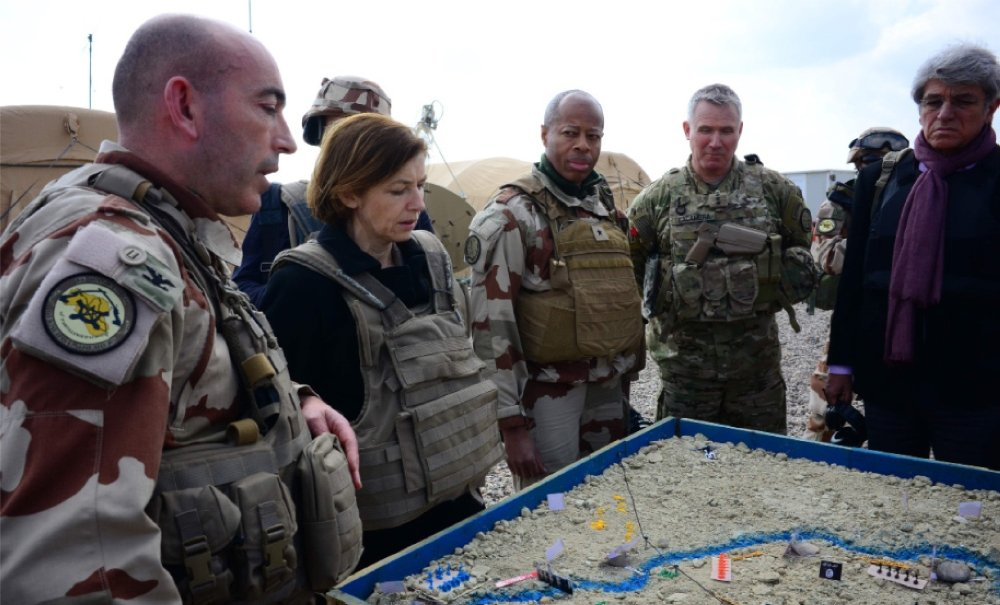 На сирийско-иракской границе