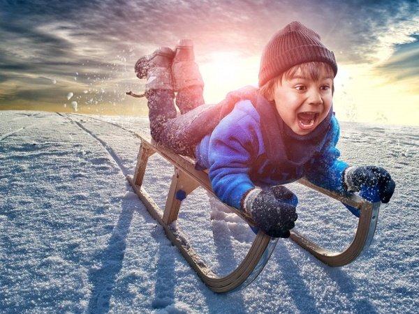 Снегокат из детства