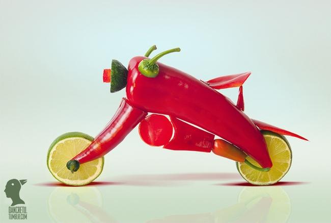 Невероятно креативные скульптуры, созданные из обычных овощей