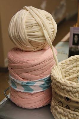 Вязание из тканевых полос