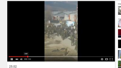 В воинской части в чеченском селе Борзой произошла массовая драка