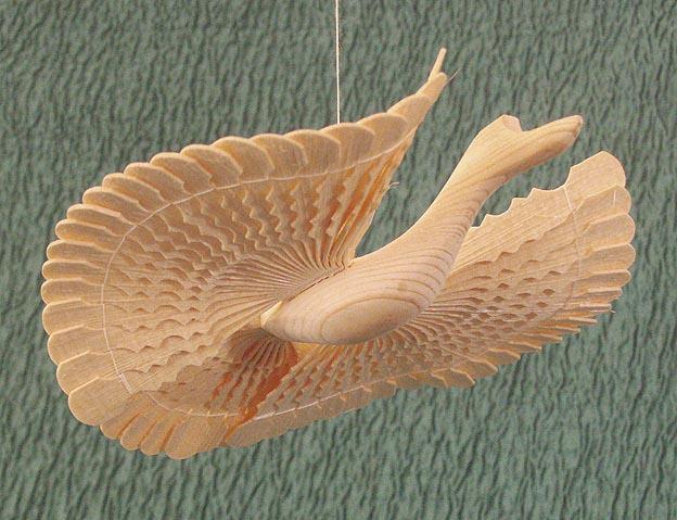 Как сделать птицу счастье из дерева