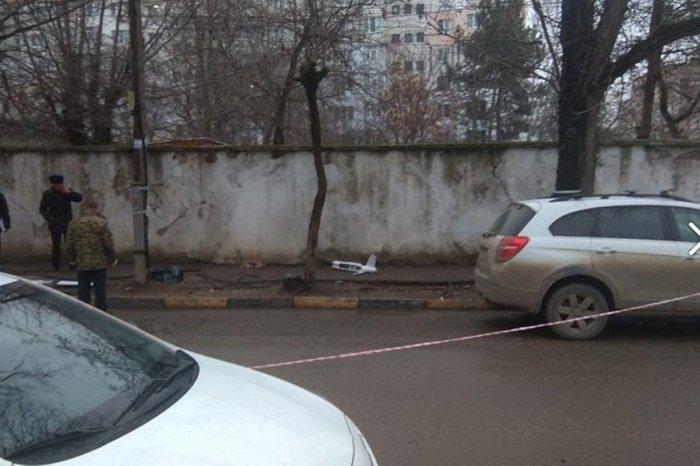 В Симферополе упал беспилотник с украинскими нацистскими листовками
