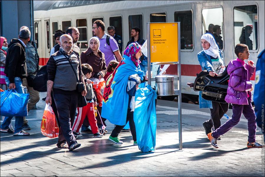 О беженцах в Германии