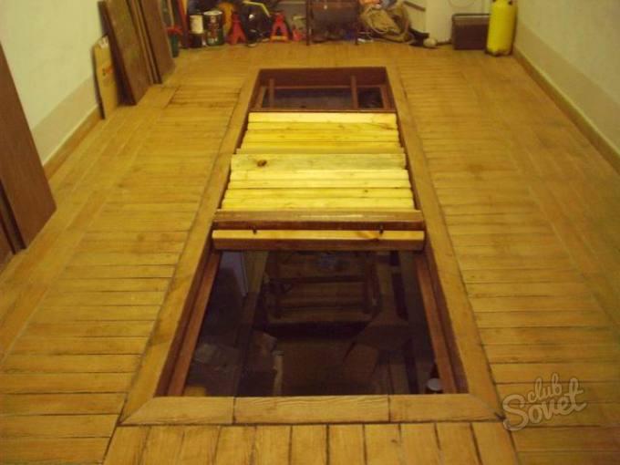 Деревянный полы в гараже своими руками