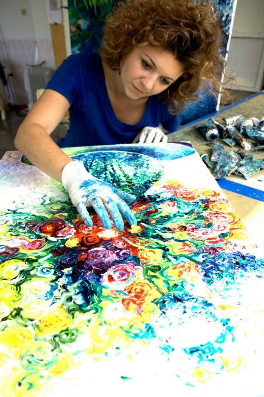Айрис Скотт (Iris Scott): искусство на кончиках пальцев