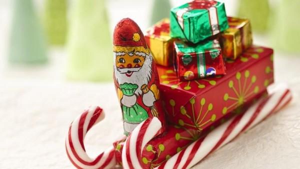 Конфетные подарки на новый год своими руками