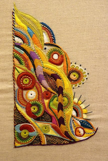 Absolutely stunning. from Mary and Patch - Pascal Jaouen style embroidery. Needlepoint inspiration: