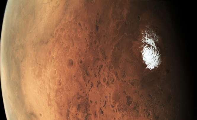 На Марсе увидели немалое таинственное облако — Новый феномен