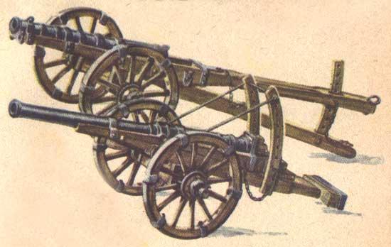 История пушки