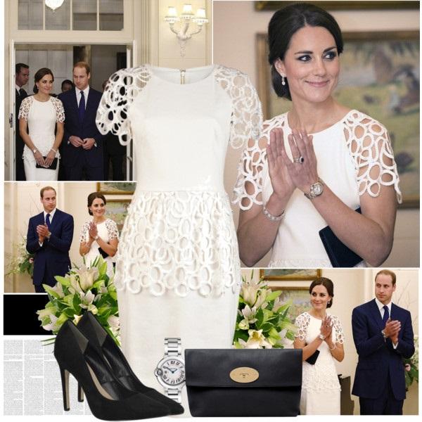 Королевский стиль — модные образы Кэтрин герцогини Кембриджской