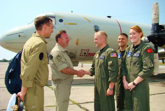 НАТОвская авиация начала патрулировать Черное море в районе Одессы. ФОТОрепортаж