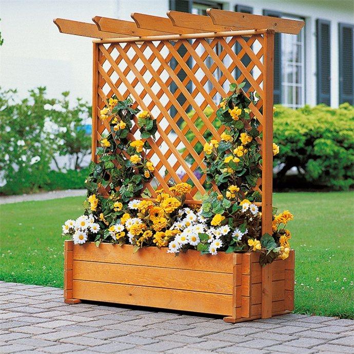 Фото кашпо для садовых цветов