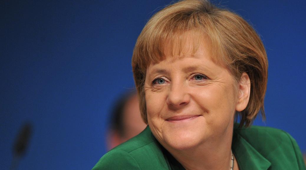 Ангела Меркель получила 10 тыс. евро премии за заслуги перед иудаизмом