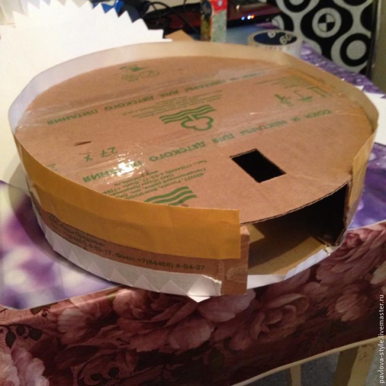 Каркас для торта из конфет из картона своими руками 74