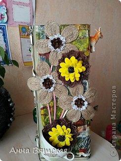 Мастер-класс Хлам-декор  предмет для нужных вещей  Материал бросовый фото 24