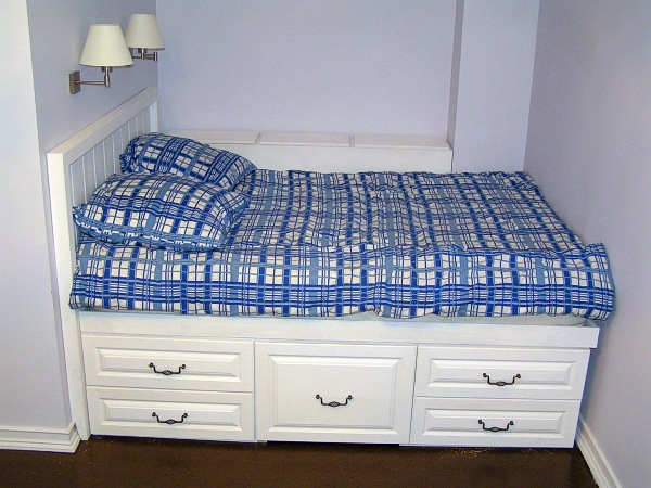 Высокая кровать своими руками фото