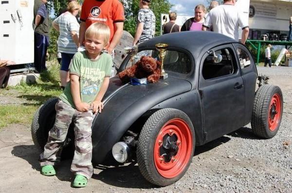 Мини-автомобиль для сына