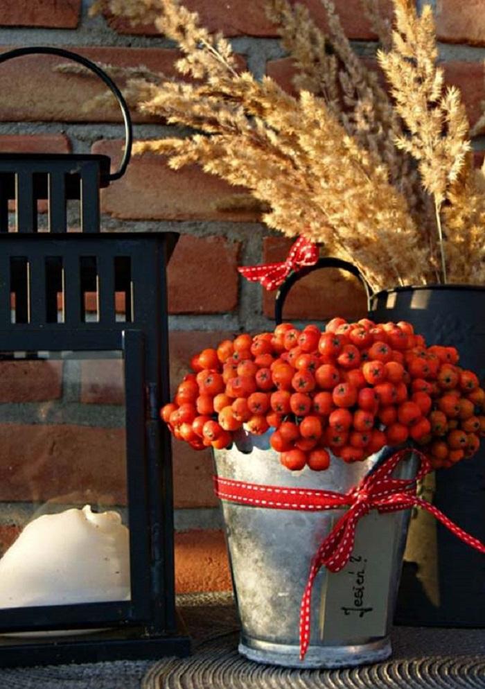 Украшем дом осенью — идеи д…