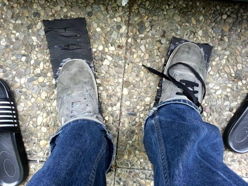Как сделать обувь из старой подошвы