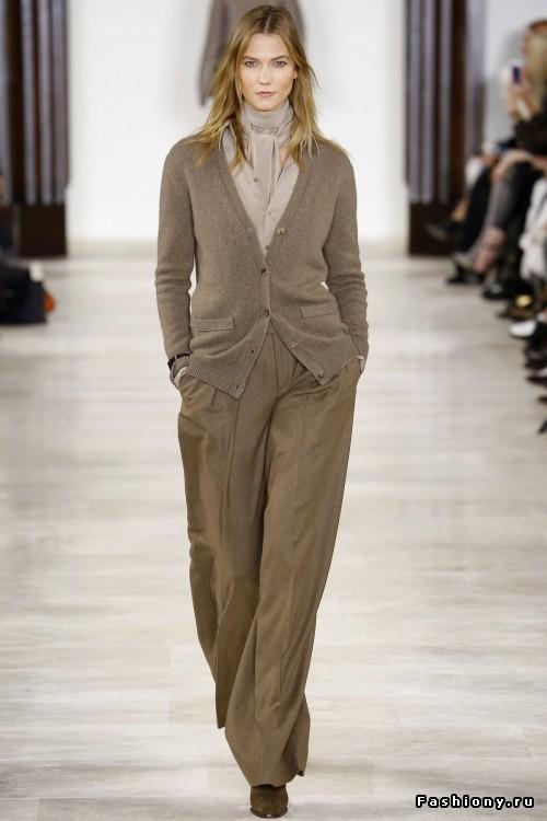 Ralph Lauren осень-зима 2016-2017: традиционно очень стильно, шикарно и очень уютно