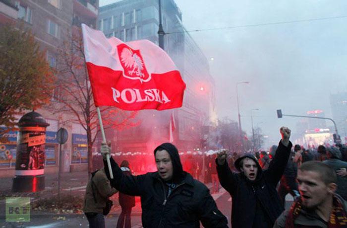 Польские неонацисты: мочить в сортире