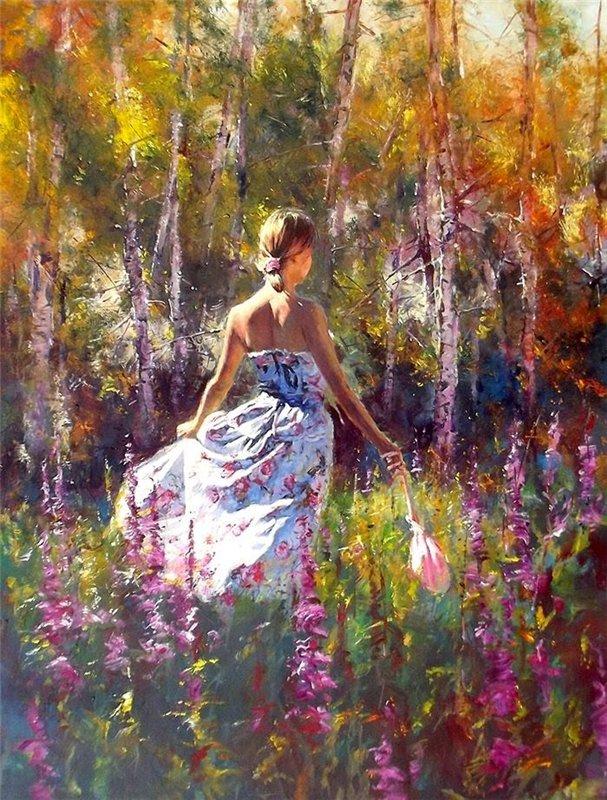 Австралийский художник Роберт Хэган (Robert Hagan)