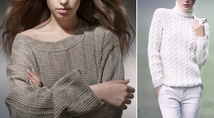модные свитера из ангоры