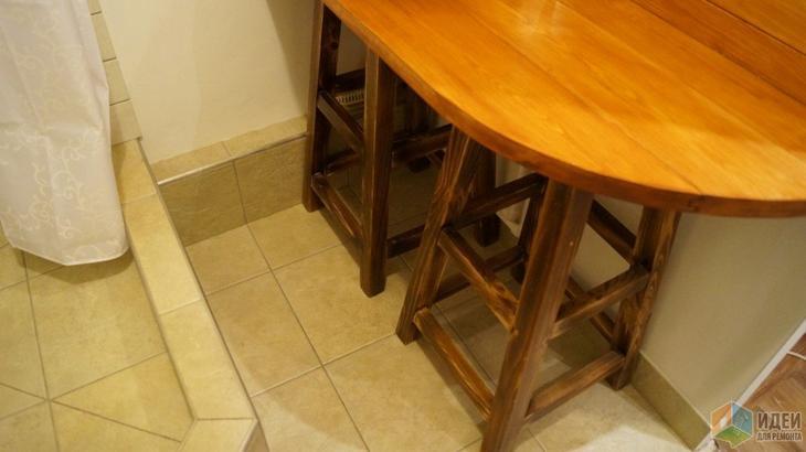Столешница в ванную, деревянная столешница для ванной