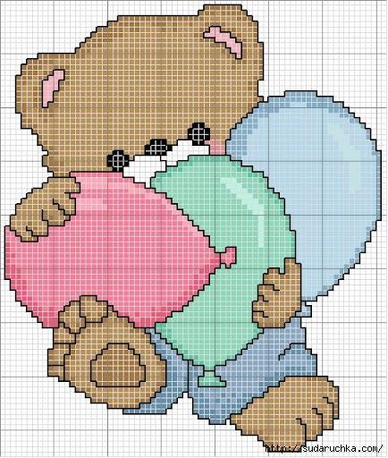 urso com balões (434x512, 212Kb)