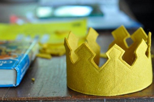 Фетровая корона