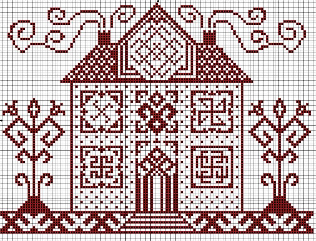 Символика вышивки в доме