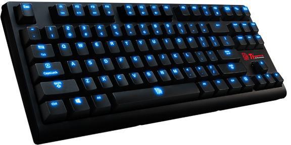 Продажи клавиатуры Tt eSports Poseidon ZX стартуют в июле по цене $75