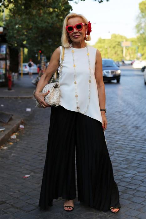 Очаровательная незнакомка из Рима. Автор фото: Ари Сет Коэн (Ari Seth Cohen).