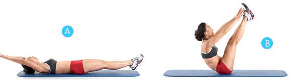 Эффективные упражнения для похудения в домашних условиях пошагово 8