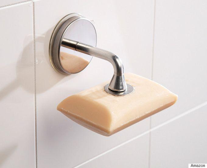 Магнитный держатель для мыла ванна, дизайн, креатив