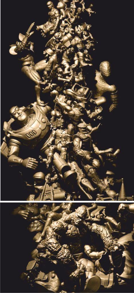 Солдатики и монстрики в декоре