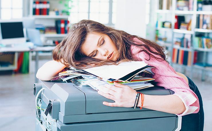 Женская эмоциональная усталость
