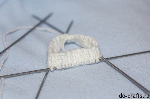 Как вязать варежки спицами 2