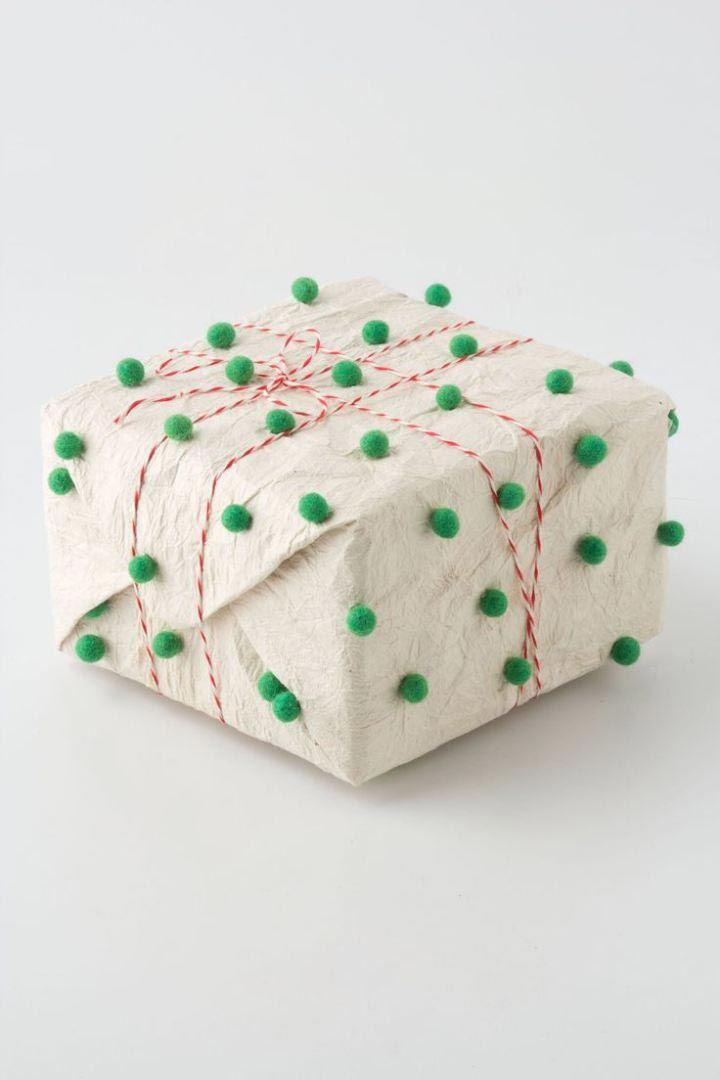 25 потрясающих идей упаковки новогодних подарков своими руками  подарок, упаковка