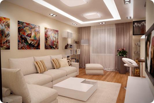 Фото гостиной в современном стиле