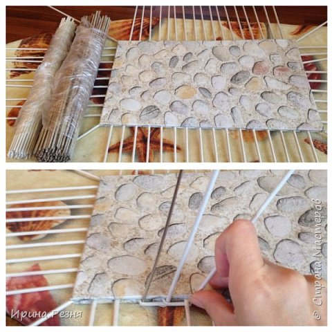 Мастер-класс Поделка изделие Плетение Мастер класс Шкатулки для новичков Бумага газетная Ленты Ткань Трубочки бумажные фото 5