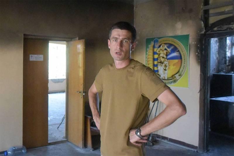 В Мариуполе украинскому подполковнику сломали челюсть - очень хотел меню на мове